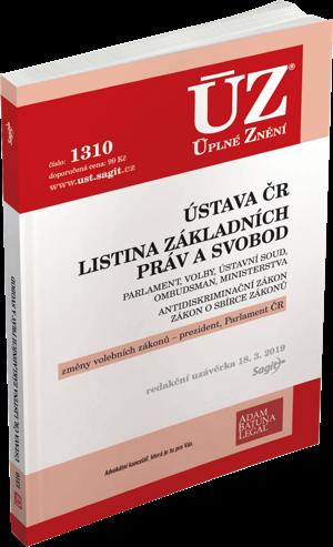 ÚZ 1310 ÚSTAVA ČR, LISTINA K 18/3/19