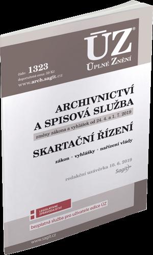 ÚZ č. 1323 - Archivnictví a spisová služba, Skartační řízení