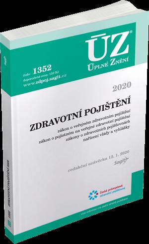 ÚZ č. 1352 - Zdravotní pojištění 2020