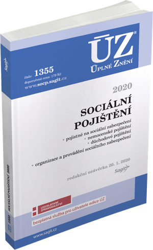 ÚZ č. 1355 - Sociální pojištění 2020