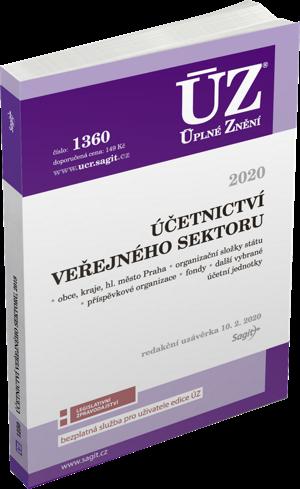 ÚZ 1360 ÚČETNICTVÍ VEŘEJNÉHO SEKTORU