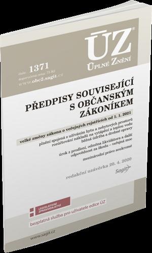 ÚZ č. 1371 - Předpisy související s občanským zákoníkem, Veřejné rejstříky
