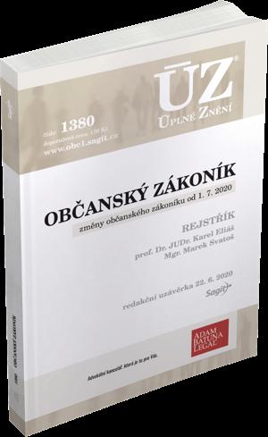 ÚZ č. 1380 - Občanský zákoník