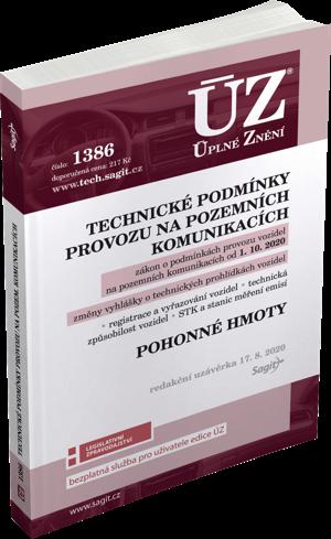 ÚZ č. 1386 - Technické podmínky provozu na pozemních komunikacích, Pohonné hmoty