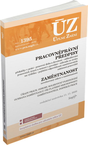 ÚZ č. 1395 - Pracovněprávní předpisy, Zaměstnanost, Odškodňování, Odbory, Inspekce práce