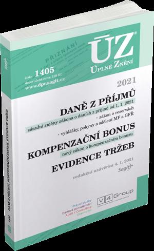 ÚZ č. 1405 - Daně z příjmů, Evidence tržeb, 2021