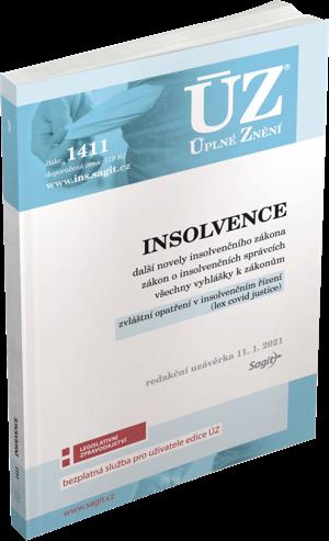 ÚZ č. 1411 - Insolvence