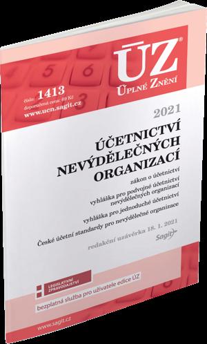 ÚZ č. 1413 - Účetnictví nevýdělečných organizací 2021