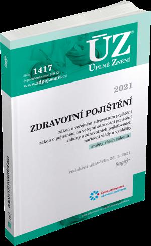 ÚZ č. 1417 - Zdravotní pojištění 2021
