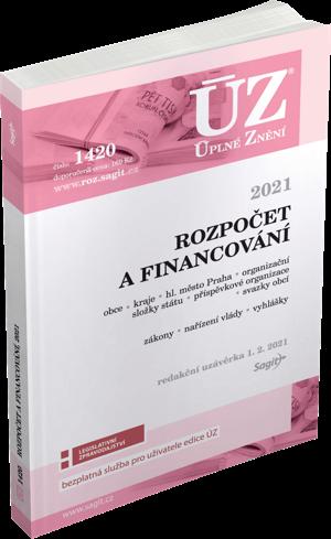 ÚZ č. 1420 - Rozpočet a financování územních samosprávných celků, organizačních složek státu, příspěvkových organizací a dalších institucí 2021
