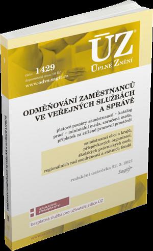 ÚZ č. 1429 - Odměňování zaměstnanců ve veřejných službách a správě