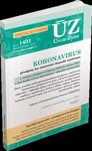ÚZ č. 1431 - Koronavirus - speciální vydání