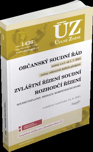 ÚZ 1436-OBČANSKÝ SOUDNÍ ŘÁD