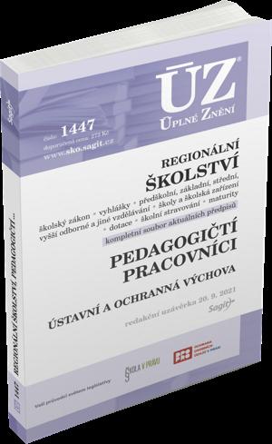 ÚZ 1447-REGIONÁLNÍ ŠKOLSTVÍ