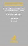 Exekuční řád, 4. vydání. Komentář