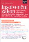 Insolvenční zákon s poznámkami a judikaturou, 3. vydání