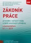 Zákoník práce s komentářem k 1. 1. 2019, 12. vydání
